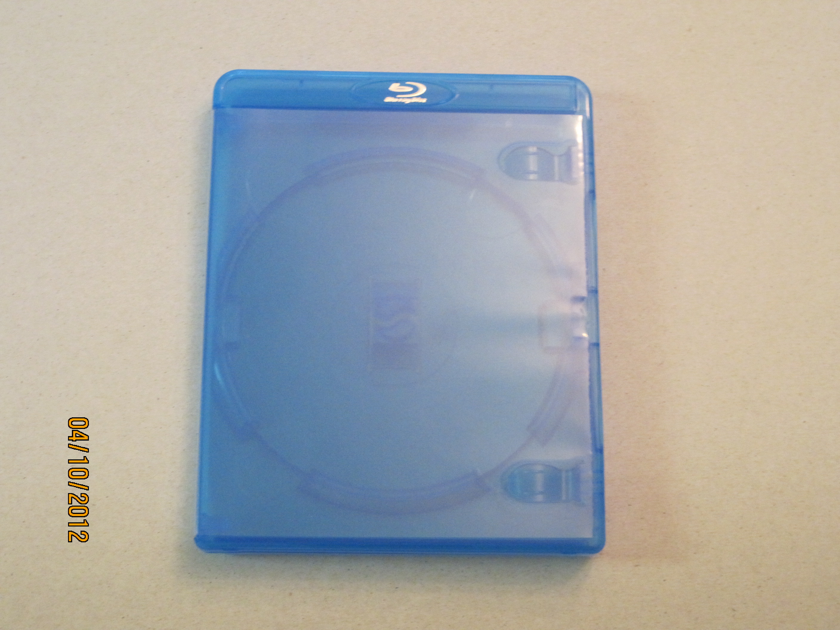 RED TAG BLU- RAY CASE